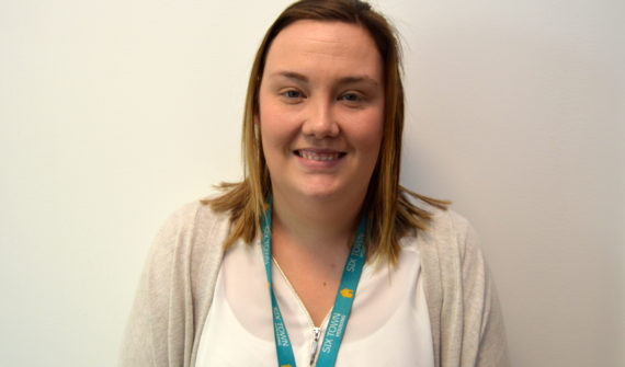 This is Amy Kirk, an Admin Apprentice at Six Town